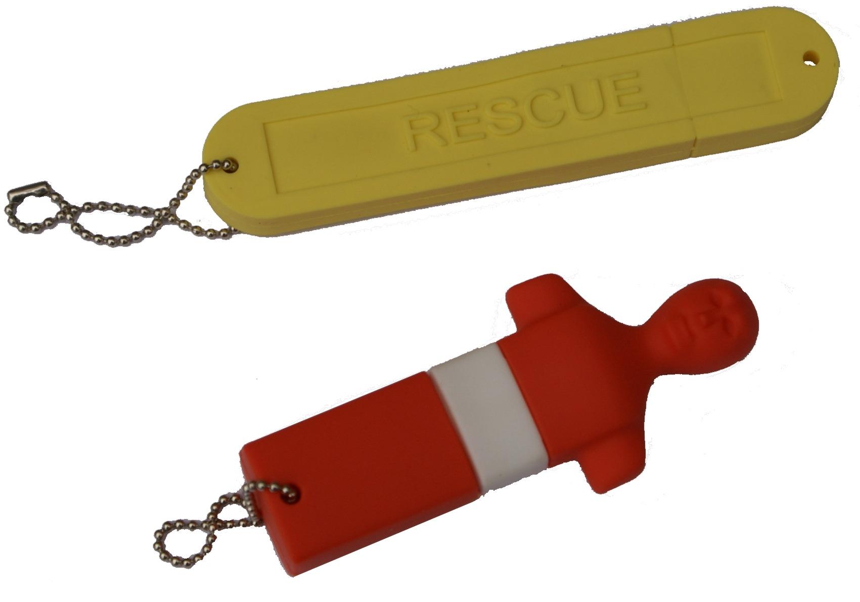 USB stick manikin and tube